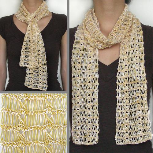 Crochet Spot Blog Archive 10 Scarves To Crochet This Summer