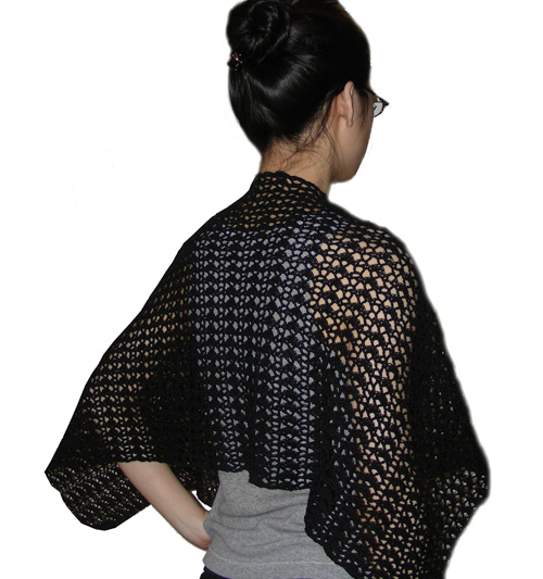 Made with size 10 thread, this shawl is fast to work up and turns out ...