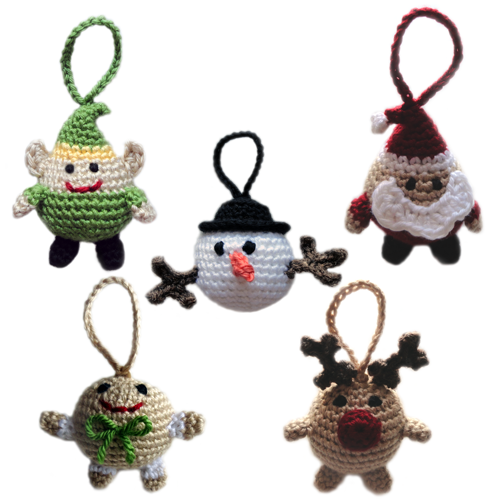 Crochet Ornaments : CROCHET PATTERNS FOR CHRISTMAS ORNAMENTS Crochet For Beginners