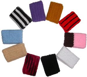 crochet cardholders