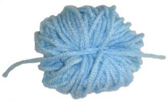 yarn pom-pom