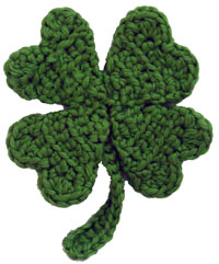 DigKnitty Designs: Shamrock Knit Dishcloth Pattern