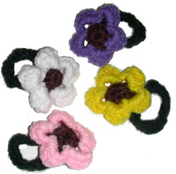 Crochet Patterns For Hair Accessories - Free Crochet Patterns
