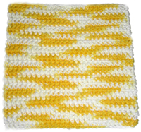 crochet dishcloth