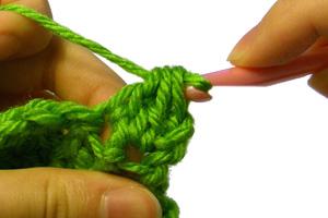 futuregirl craft blog : Tutorial: Foundation Single Crochet