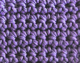 crochet both loops