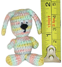 crochet thread bunny