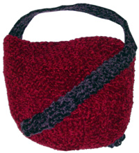 Free Crochet Pattern - Chenille Bells Ornament from the