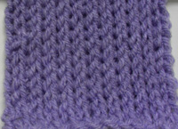 Crochet Knit Stitch Instructions : ... Crochet Pattern: Tunisian Knit Stitch Scarf - Crochet Patterns