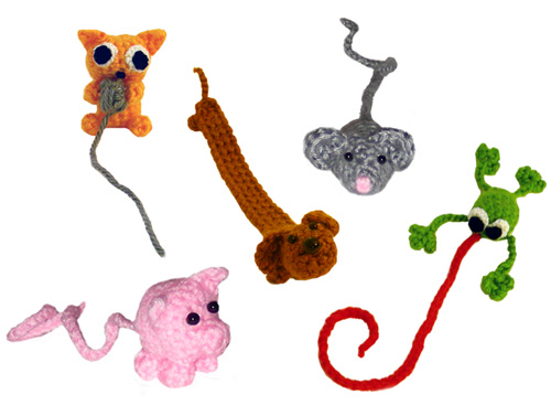 Crochet Children's Bookmark Patterns