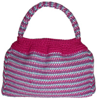 crochet tunisian purse