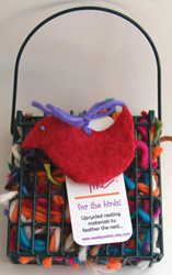 scrap yarn bird nest kit