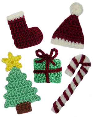Christmas Ornaments - Stormy'z Crochet -Cute  Easy Designs