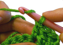 learning crochet