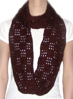 crochet loop scarf