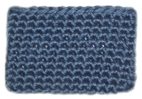 crochet business card sleeve