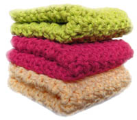 Amazon.com: Towel Toppers & Dishcloths (Annie's Attic: Crochet
