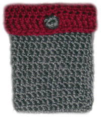 Free Knitting Pattern 50247 Cell Phone Case : Lion Brand Yarn Company