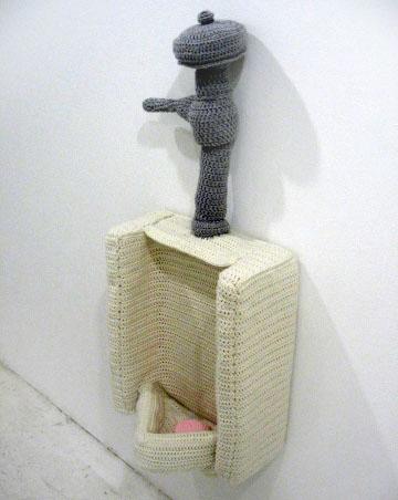 Crochet Spot Blog Archive Crocheted Urinal Crochet Patterns