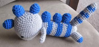 crochet dinosaur
