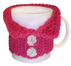 crochet cozy mug sweater