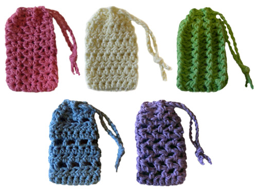 crochet soap savers