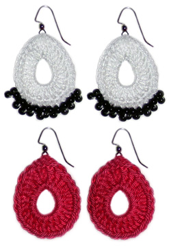 Crochet Spot Blog Archive Crochet Pattern Teardrop Earrings
