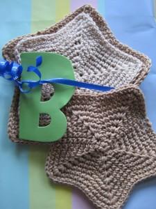 Crochet Spot Blog Archive Crochet Pattern Star Washcloth In Two