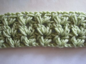 Crochet Geek Crochet Cluster V Stitch Blanket Pictures to pin on ...