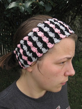Fitted Ear Warmer Headband Pattern - Crochet -- All About