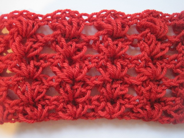 Stephanie Says : Crochet Pattern: Shell Block Afghan