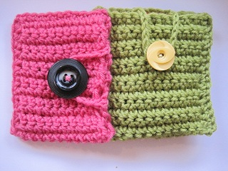 How to Crochet a Cell Phone Case or Pouch Crochet Pattern