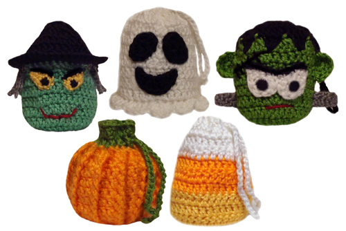 Free Crochet Patterns For Halloween : Crochetoholics Crochet Place: Crochet Halloween Fun Projects