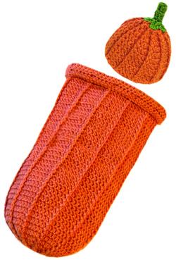 Crochet Spot Blog Archive Crochet Pattern Pumpkin Baby Cocoon