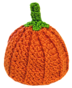free crochet pumpkin hot pad pattern
