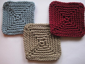 see cool coasters 1 and cool coasters 2 and one last week of free coaster patterns to come