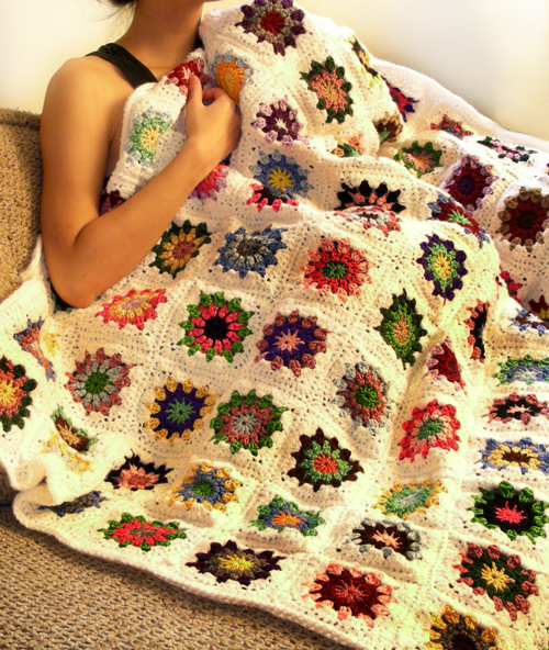 Crochet Spot Blog Archive Crochet Pattern Kaleido Blanket
