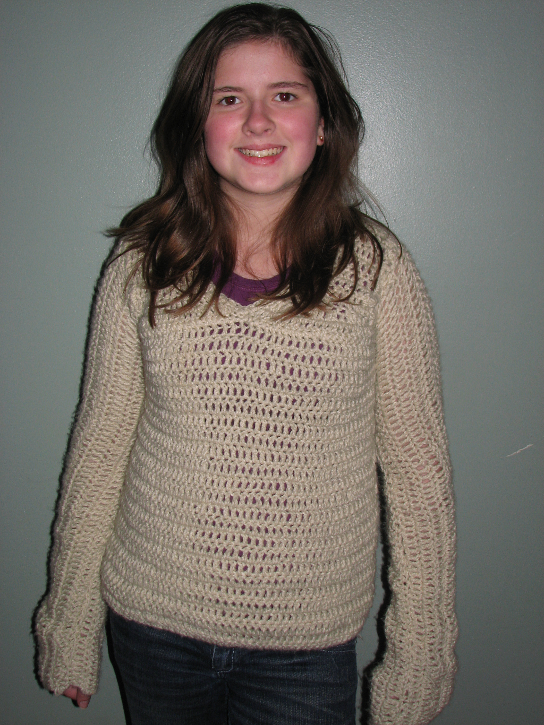 Crocheting A Sweater : Crochet Spot ? Blog Archive ? Crochet Pattern: Allyson?s Sweater ...