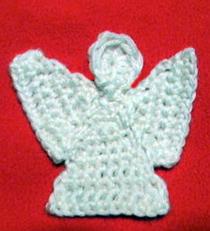 Free Crochet Patterns Angel Ornaments : Crochet Spot Blog Archive Crochet Pattern: Angel ...