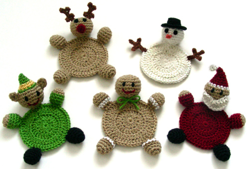 Christmas Crochet Patterns : CHRISTMAS CROCHETED FREE ORNAMENT PATTERN - Crochet - Learn How to ...