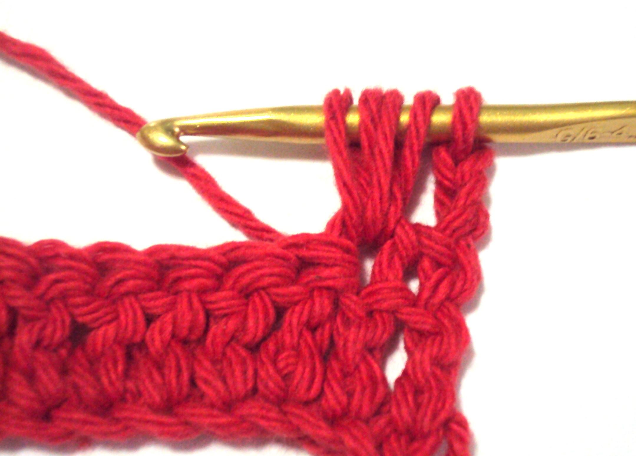 Repeat Previous Steps (yarn Over, Insert In Same Stitch Or Space, Yarn  Over, Pull Yarn Through Stitch Or Space) Pull New Loops To The Same Height  As The