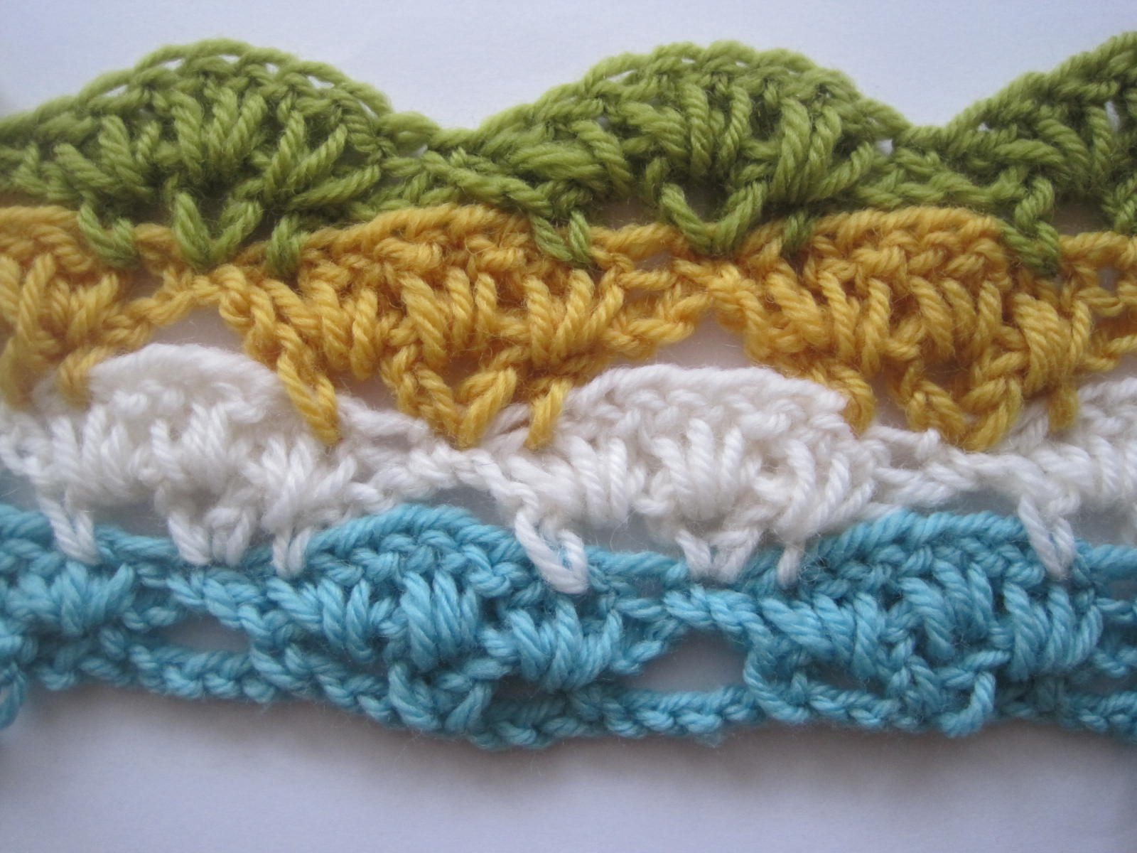 Pics Photos - How To Crochet Multi Colored Stitches Part 2