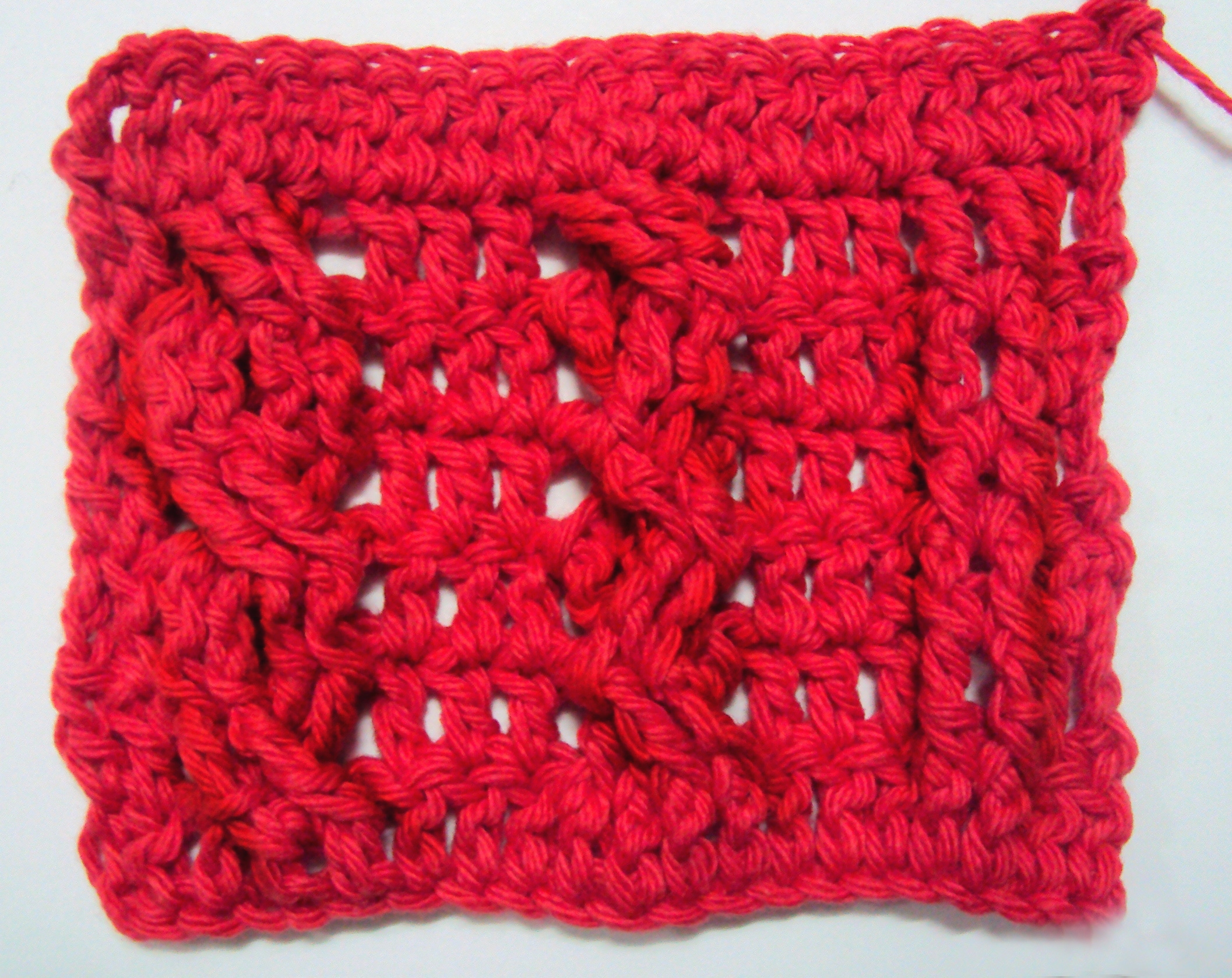 Crochet Stitches On Video : Crochet Stitches How to crochet: cable stitches