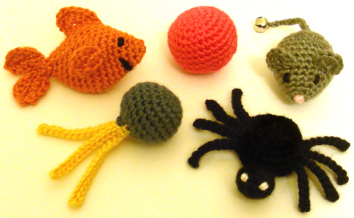 Crochet Spot Blog Archive Crochet Pattern 5 Quick Cat Toys