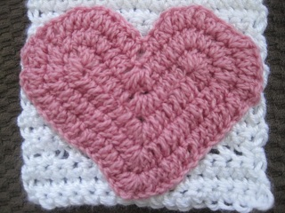 HEART CROCHET RUG - Crochet — Learn How to Crochet