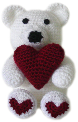 How to crochet a solid heart pattern | Video « Wonder How To