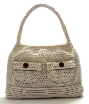 Crochet Shoulder Bag Pattern Free : ... Crochet Pattern: Working Girl Shoulder Bag - Crochet Patterns