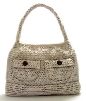 e2cb9d6494 Crochet Spot » Blog Archive » Crochet Pattern  Working Girl Shoulder Bag -  Crochet Patterns
