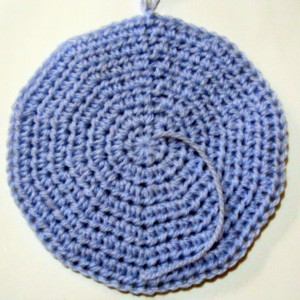 CROCHET WORKING IN ROUND - CROCHET PATTERNS