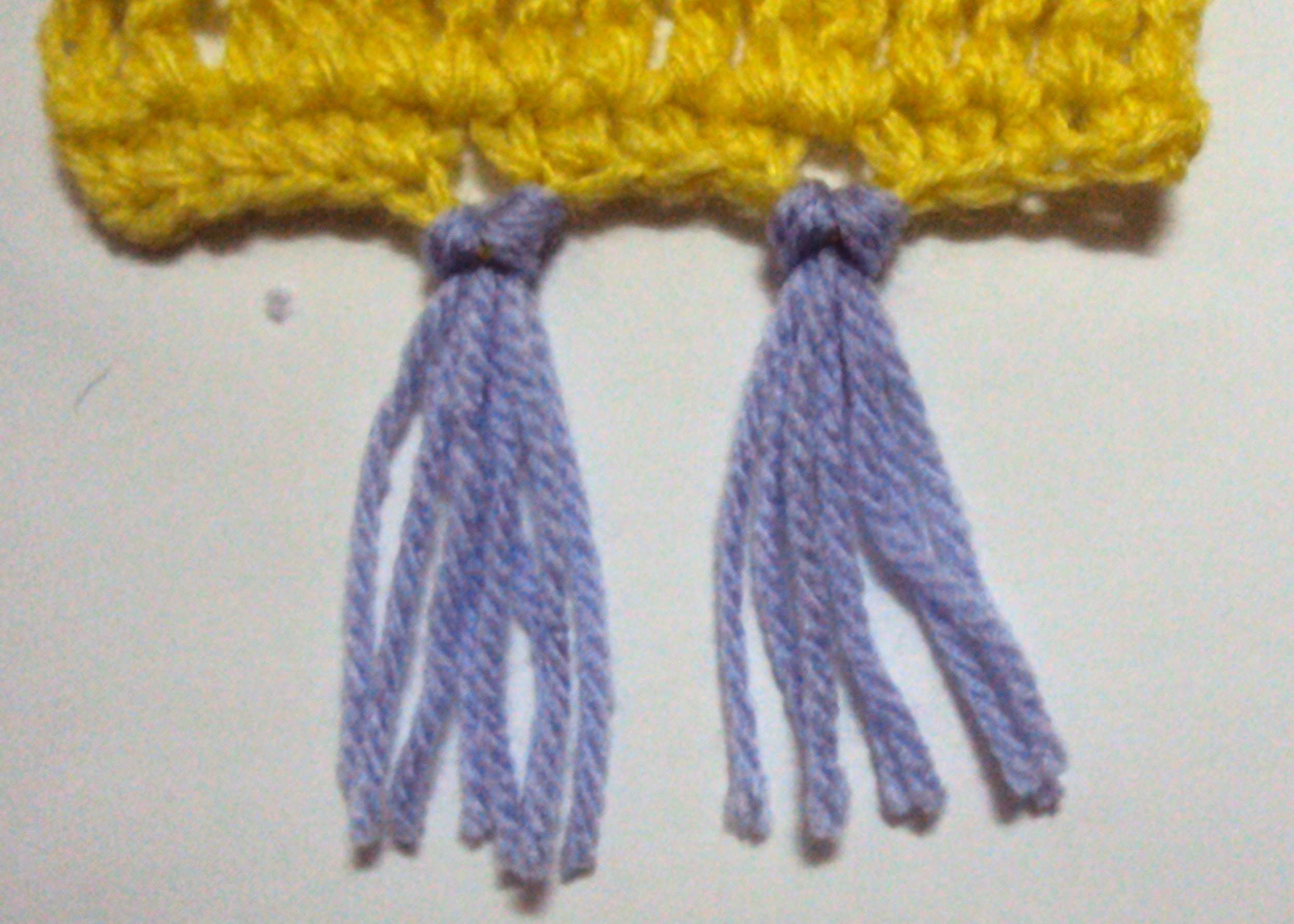 Crochet Spot Blog Archive How To Add Fringe Or Tassels Using A